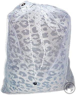 GESWGE Fof7 Mesh Laundry Bags White