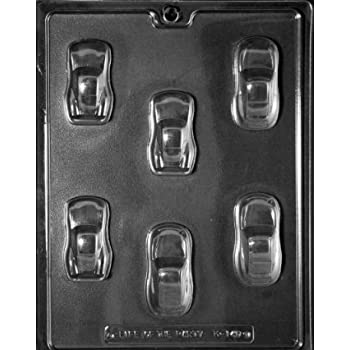 Cool Cars Chocolate Candy Mold