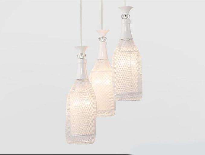 Wcui combinazione led lampadario di cristallo lampadari bar vetro