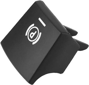 MoreChioce 61312822518 Bouton de Commutation de Frein de Stationnement de Voiture Compatible avec S/éries 5//6 X3//X4 F10 F11 F18 F06 F12 F13 F25 F26 2009-2013