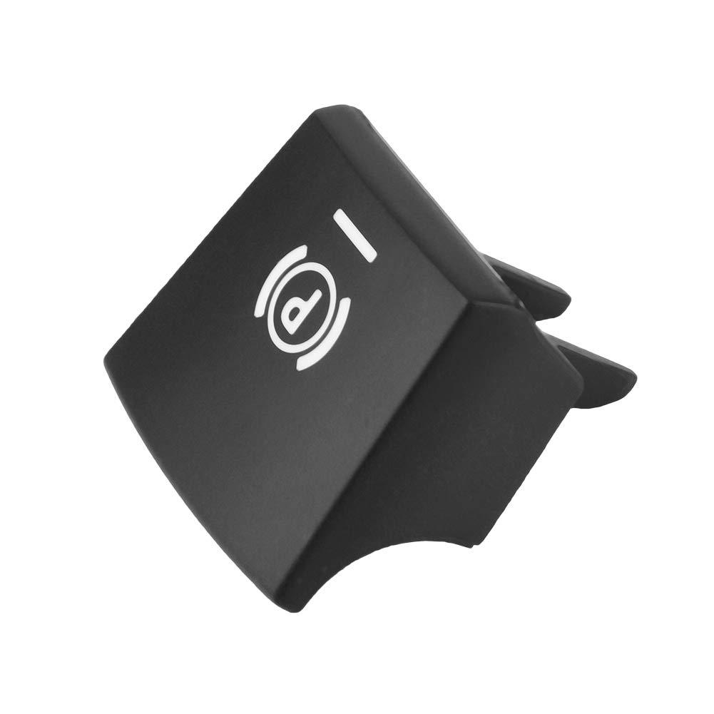 freno a mano Interruttore freno di stazionamento Coperchio pulsante interruttore auto per 09-14 5//6 Series 61312822518 Coperchio pulsante interruttore auto