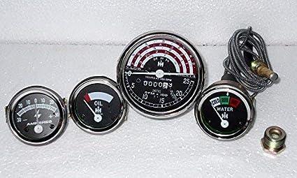 Amazon com: IH-B250-B275-B414-276-354-434-444-Tachometer-Temp-Oil