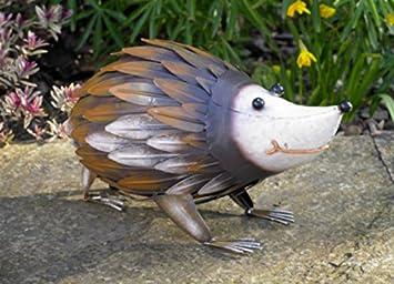 Garden Mile® - Figura decorativa de metal para el jardín con diseño de animal, elementos decorativos para el jardín realistas, decoración para paisajismo: Amazon.es: Jardín