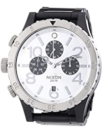 A486-180 Mens The 48-20 Chrono Black Silver Watch