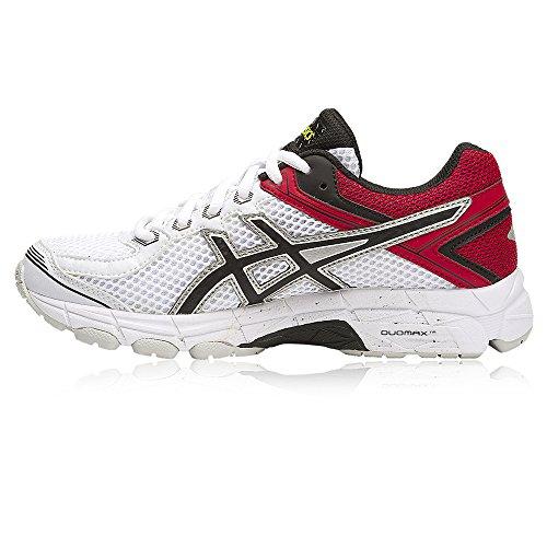 Asics Gt-1000 4 Gs - Zapatillas de running Niños Blanco / Rojo / Negro