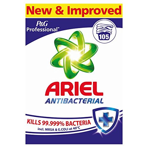 ( 105wash Pack ) Ariel Professional Washing Powder Antibacterial 105 Washes