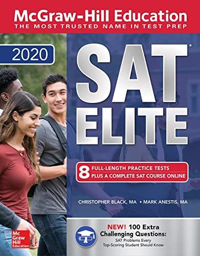 Pdf Test Preparation McGraw-Hill Education SAT Elite 2020