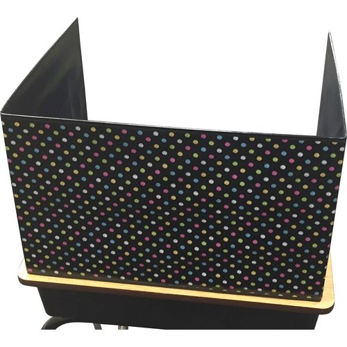 Teacher Created Resources 20763 Chalkboard Brights Classroom Privacy Screen (Study Carrel)