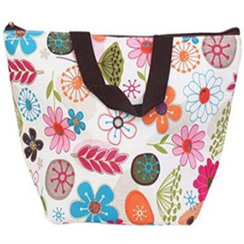0636c31bf0e3 Garrelett 1 Pcs Reusable Lunch Bags Totes Oxford waterproof Keep ...