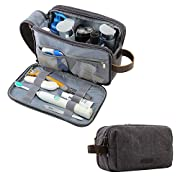 Bagsmart Toiletry Bag for Men Travel Shaving Dopp Kit Water-Resistant Cosmetic Bag Travel Organizer for Accessories…
