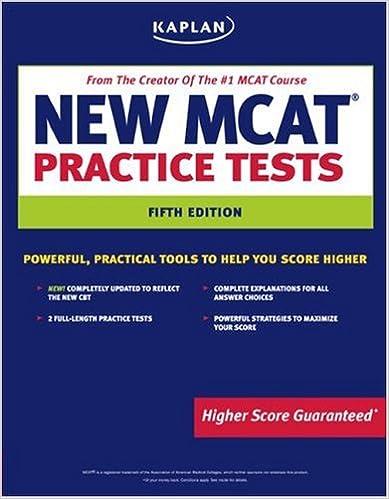 Kaplan New MCAT Practice Tests (Kaplan MCAT Practice Tests