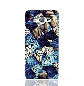 Samsung Galaxy J5 2015 TPU Silicone Case with Digital Art Abstract Pattern