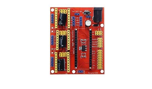 RongDuosi LDTR-DM20 Arduinos CNC Shield V4 Tarjeta de expansión ...