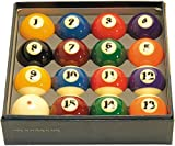 Aramith 2-1/4'' Regulation Size Professional Billiard/Pool Balls, Super Aramith, Complete 16 Ball Set