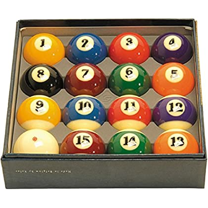 Image of Aramith 2-1/4' Regulation Size Professional Billiard/Pool Balls, Super Aramith, Complete 16 Ball Set