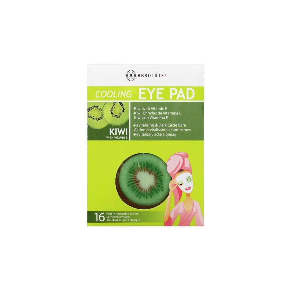 Amazon.com : Absolute Cooling EYE PAD Kiwi Revitalizing & Dark Circle Care 16 Pads : Beauty