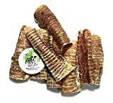 Sancho & Lola's 6-inch USA Beef Trachea Tube Treats for Dogs (8-Pack), Made in Nebraska/USA, Natural Source of Glucosamine and Chondroitin for Improving Joint Health (Also See 12', 3', 1' & Lamb)