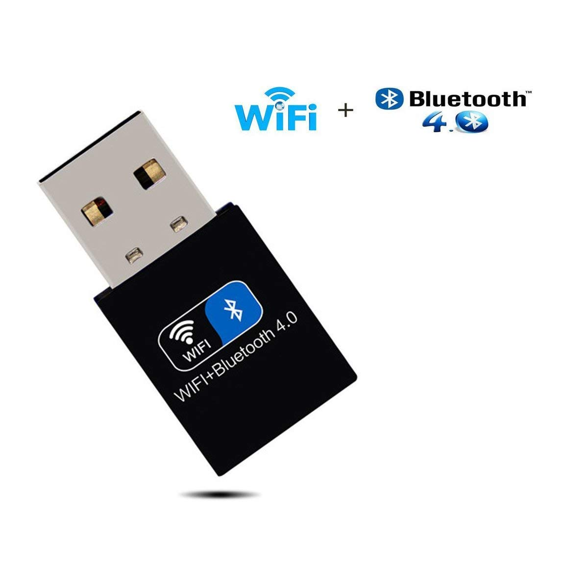 iFun4U adaptador USB WiFi adaptador Bluetooth velocidad de hasta 150 Mbps para PC y portátiles, compatible con Win 7/8/8.1/10/XP/Vista/Linux: Amazon.es: ...