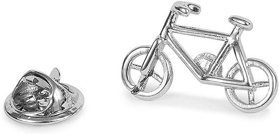 SoloGemelos - Pin De Solapa Bicicleta - Plateado - Hombres - Talla ...