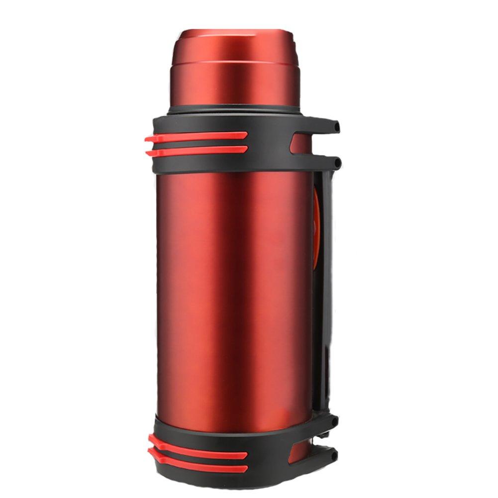 SAVG 断熱カップ304ステンレススチールポータブルノンスリップ漏水大容量銅メッキ超長時間真空フラスコ、3色オプション (色 : A)  A B07LF27B7S