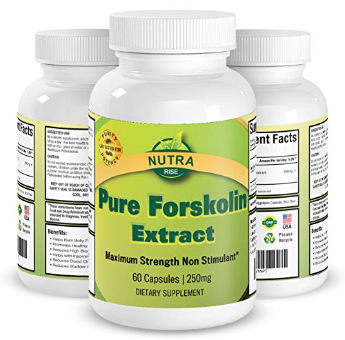 Nutra-Rise-Pure-Forskolin-Coleus-Forskohlii-Root-Extract-Weight-Loss-Dietary-Supplement-60-Capsules