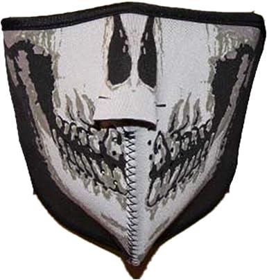 M/áscara de cr/áneo ajustable para el cuello el polvo camping motociclismo Black Sugar esqu/í neopreno y caza la boca la nariz gris senderismo la oreja escalada pesca protecci/ón resistente