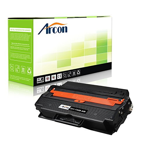 8 Toner Cartridge Compatible Dell 1260 Toner Dell 331-7328 (RWXNT) Toner Cartridge for Dell B1260dn Dell B1260dnf Dell B1265dfw Dell B1265dnf Printer (Dell B1260dn Laser Printer)