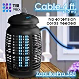 TBI Pro Bug Zapper for Outdoor & Attractant