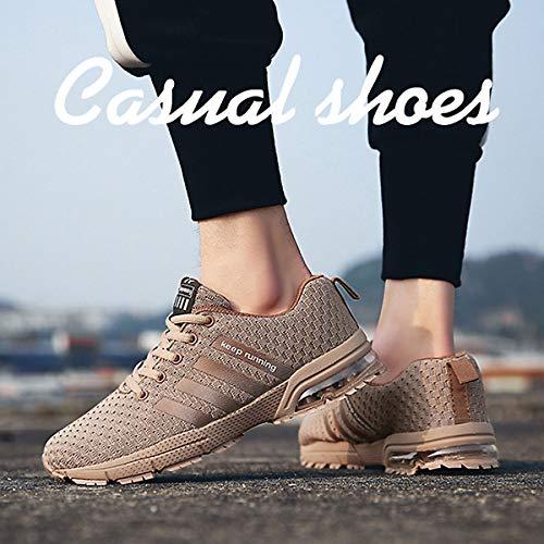 Running Homme Course de Chaussures Couleurs Femme Compétition Trail Sport CHNHIRA Abricot Basket Cinq Entraînement qFwB46tx