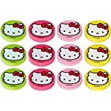 """Amscan Hello Kitty 1-1/4"""" Eraser Favors Value Pack, 12-Count"""