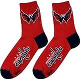 Washington Capitals Team Color Quarter Socks