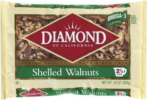 Diamond Shelled Walnuts, 10-Ounce