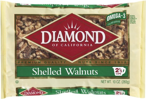Diamond of California, Shelled Walnuts, 10 Ounce