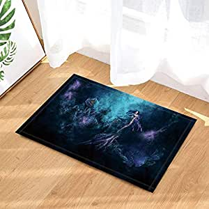 Amazon.com: gohebe Fantasy tapetes de baño Galaxy Starlight ...