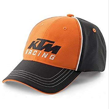 KTM Racing Gorra Team Official 2016, color negro y naranja: Amazon.es: Coche y moto