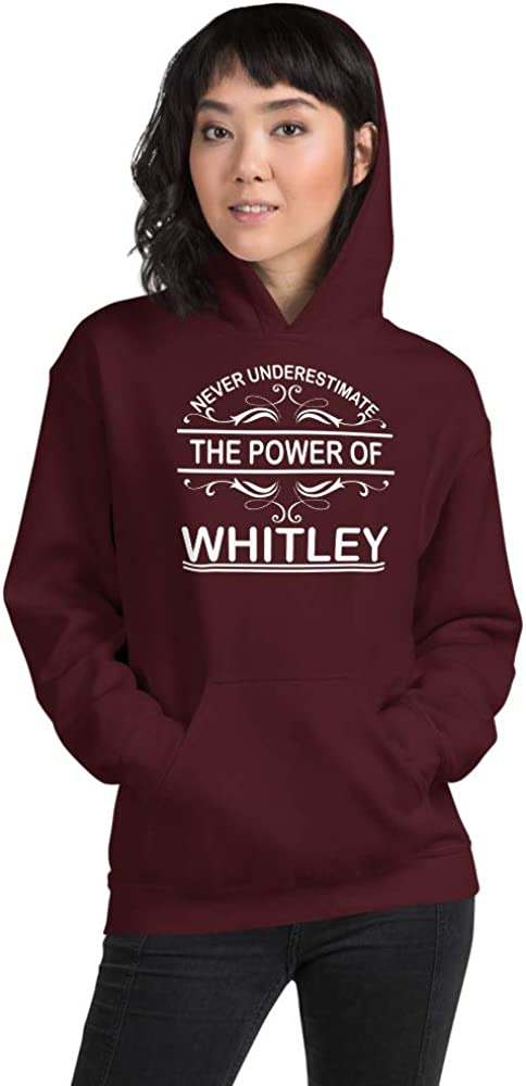 Never Underestimate The Power of Whitley PF