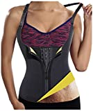 Gotoly Womens Hot Sweat Body Shaper Sauna Tank Top Tummy Fat Burner Slimming (Black, XL:US 14-16)