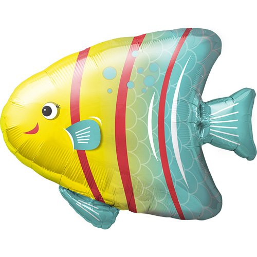 Angelfish Helium Foil Balloon - 25 inch