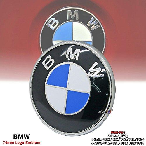 bmw 330i rear emblem - 4