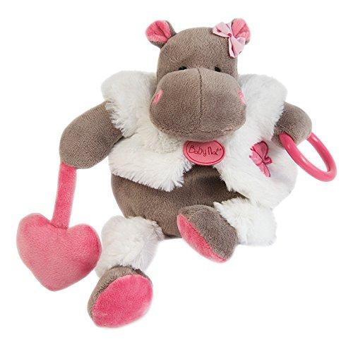 Baby nat' Pantin d'Activité Zoé l'Hippo Rose BABY NAT' BN083