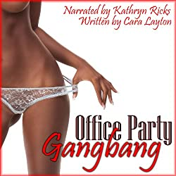 Office Party Gangbang (Gangbang Blackmail Erotica)