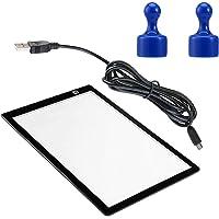 ULTNICE Led Light Art Box Tracer Board A4 Artcraft Tracing Light Tekenblok Kopieerbord Voor Kunstenaars Tekenen Schetsen…