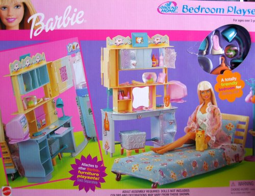 Barbie All Around Home Bedroom Playset 2000 Buy Online In Uae Toy Products In The Uae