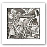 Relativity Poster Print by M.C. Escher (14 x 11)