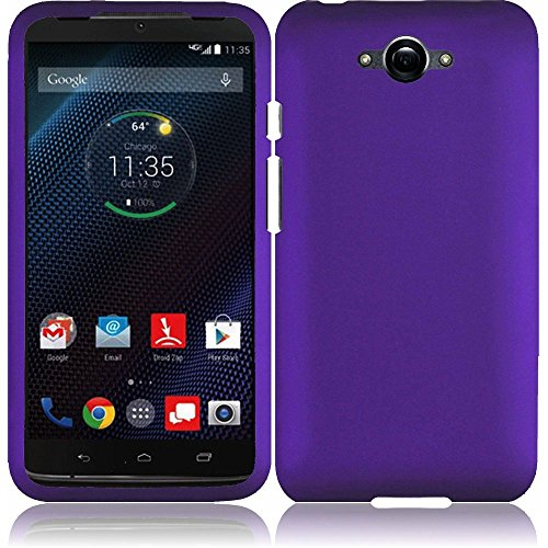 Motorola Pink Keyboard - LF 3 in 1 Bundle - Hard Case Cover, Stylus Pen & Wiper for (Verizon) Motorola Droid Turbo XT1254 (Hard Purple)