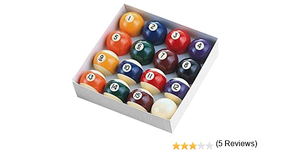 Amazon.com : Minnesota Fats MFA41655 Regulation Ball Set : Billiard Balls :  Sports U0026 Outdoors