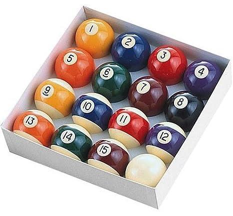 Amazoncom Minnesota Fats MFA Regulation Ball Set Billiard - Minnesota fats mini pool table