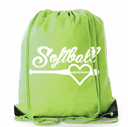 Softball Goody Bags, Softball Drawstring bags for Team Parties & Birthdays -