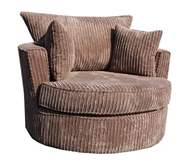 Swivel Cuddle Chair Seat. Rotating Swivle Snuggle Love Chair