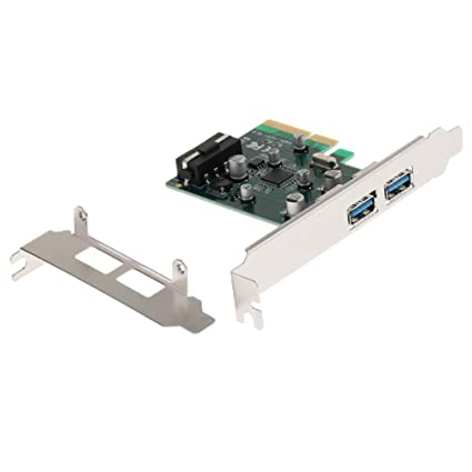 Amazon.com: B Blesiya PCI Express to USB3.1 Type A USB 2Port ...